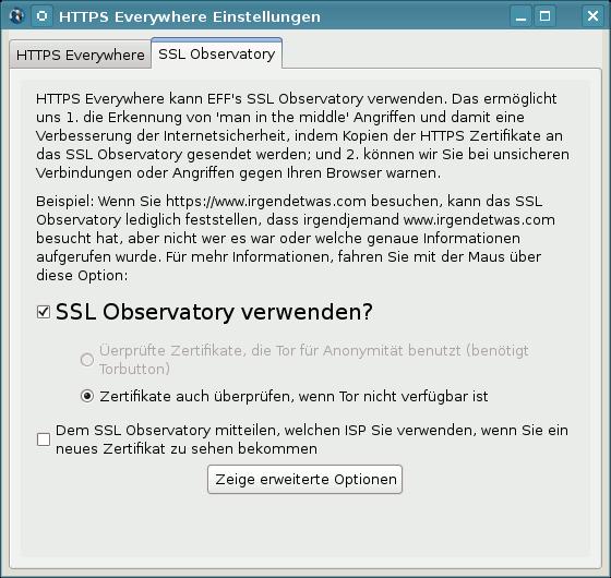 Security Plug-Ins für Firefox